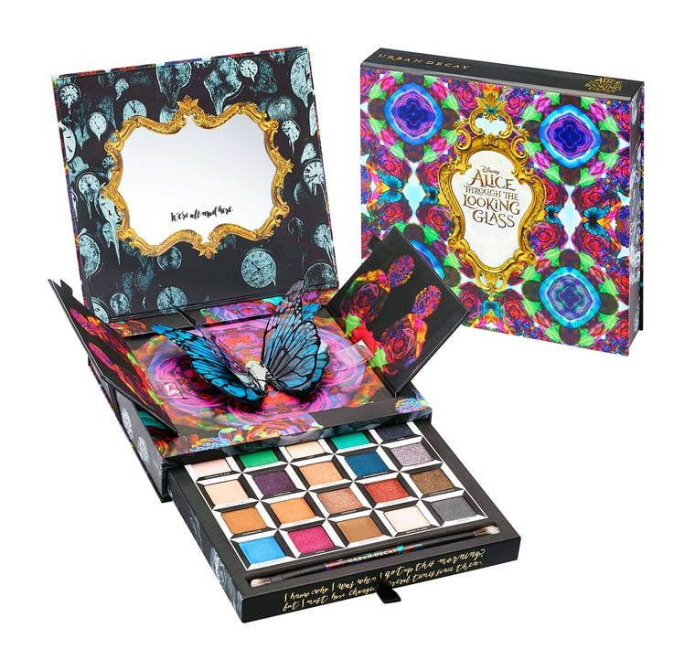 Geek Fashion and Beauty - Alice Through The Looking Glass Palette