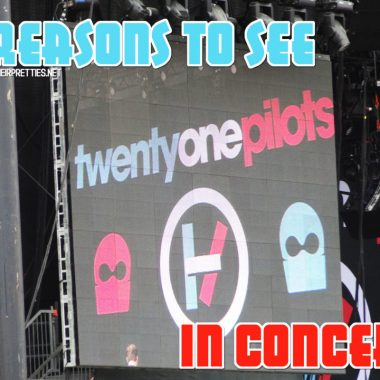 Twenty One Pilots gave one of the best performances that I've ever seen in concert! They are definitely worth seeing in concert! #Music #PilotsNation