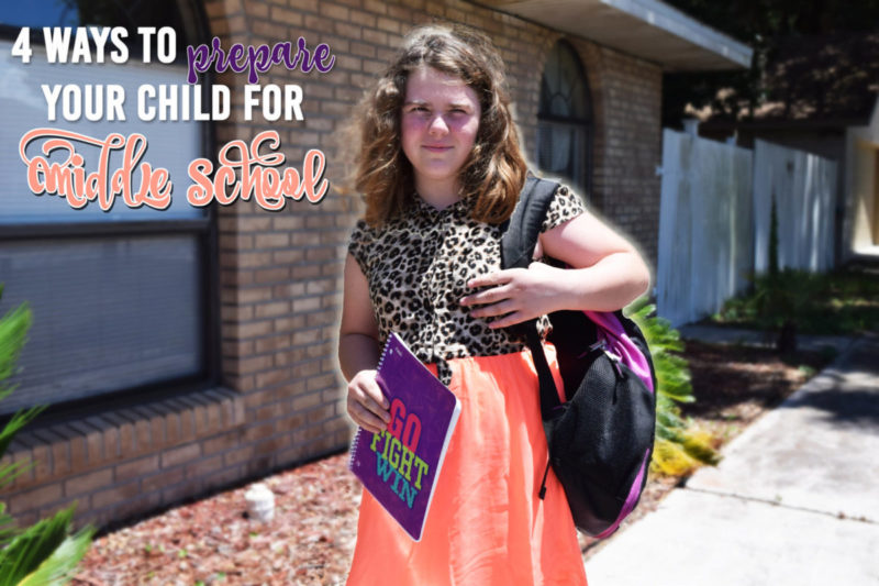It was in that moment that I decided to make my beautiful niece confident in going to middle school. While that fear probably won't leave her until she is actually in middle school, I figured I could help boost her confidence in other areas! Check out these 4 ways to prepare your child for middle school. Plus, enter to win an awesome back to school kit featuring Goody hair products and Five Star school supplies.
