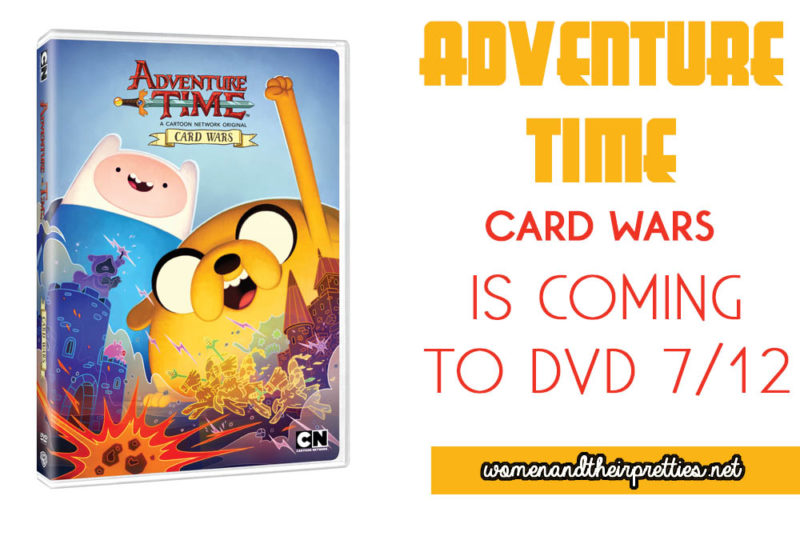 Adventure Time Card Wars will be available on DVD soon
