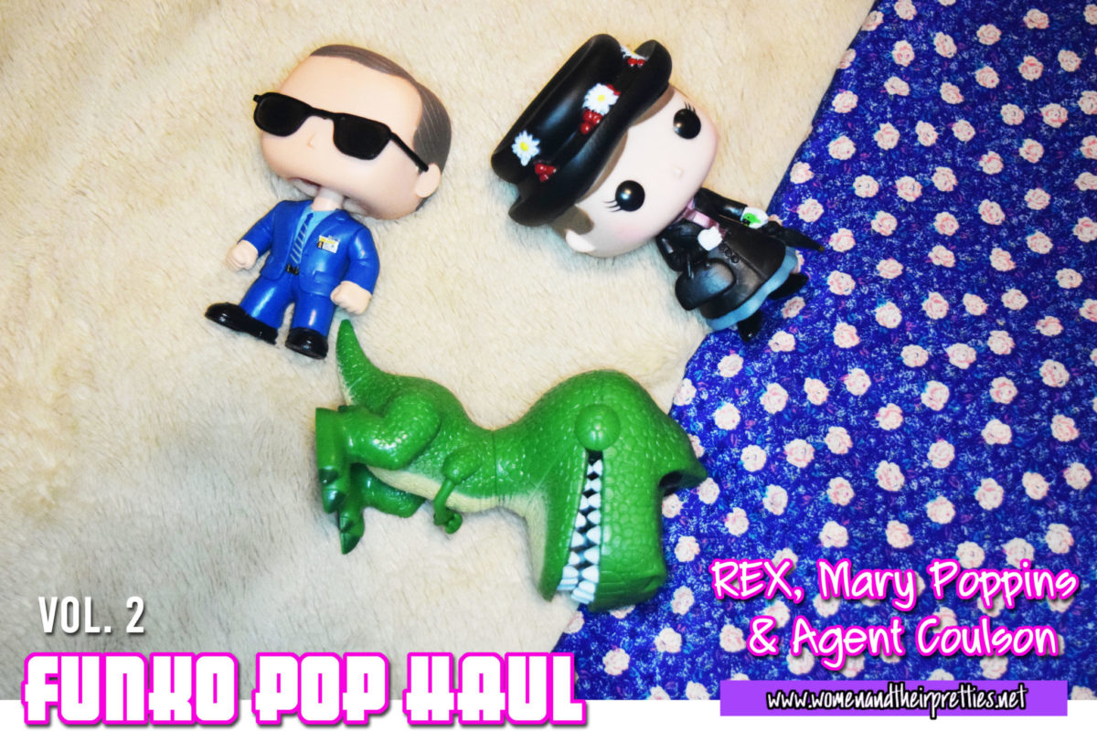Funko Pop Haul Vol. 2 - Agent Coulson, Mary Poppins, and Toy Story's REX. Find out how you can get them, display them, and what's next! #FunkoPop #GeekToys