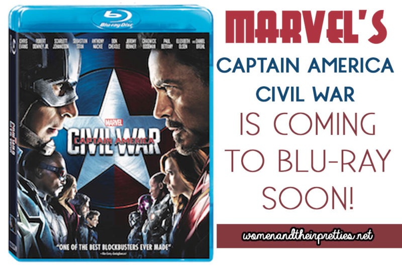 Marvel's Captain America Civil War will be available to take home soon
