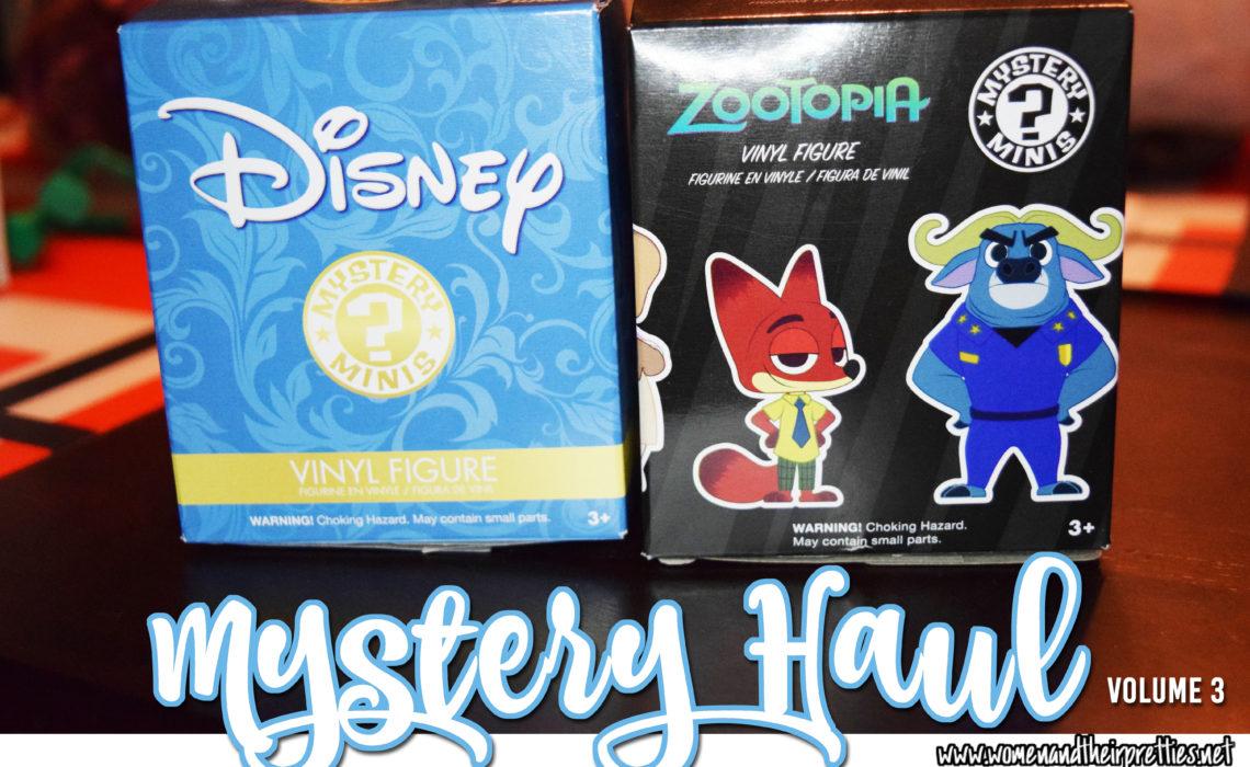 Mystery Haul Volume 3 - Disney Mystery Minis and Zootopia Mystery Minis REVEAL #GeekToys #Funko