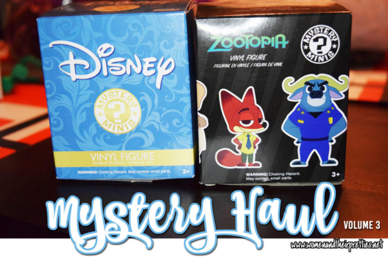 Mystery Haul Volume 3 - Disney Mystery Minis and Zootopia Mystery Minis REVEAL #GeekToys #Funko