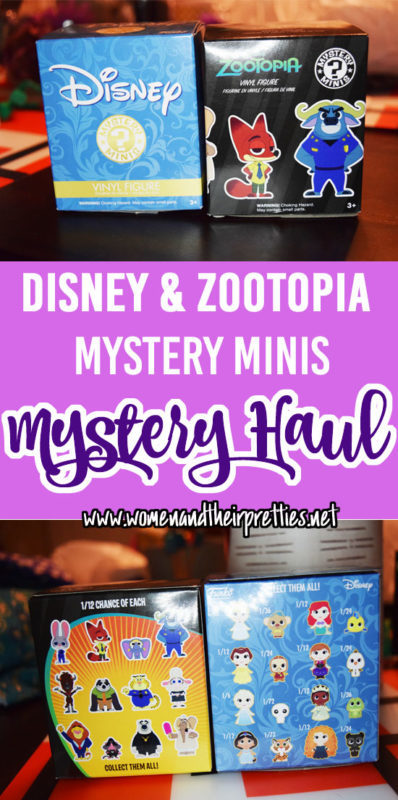 Mystery Haul Volume 4 - Disney Mystery Minis and Zootopia Mystery Minis REVEAL #GeekToys #Funko
