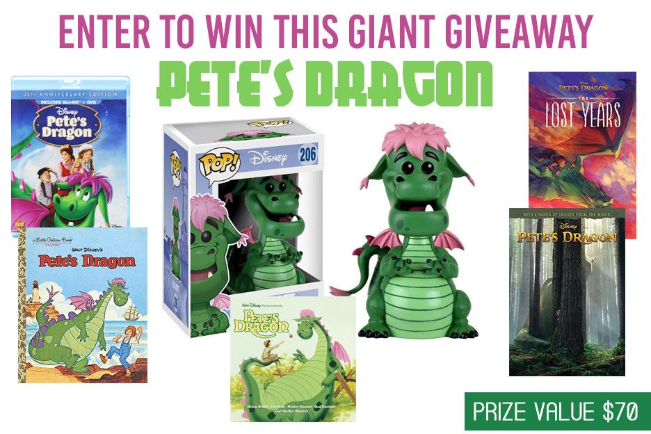 Petes Dragon Giveaway