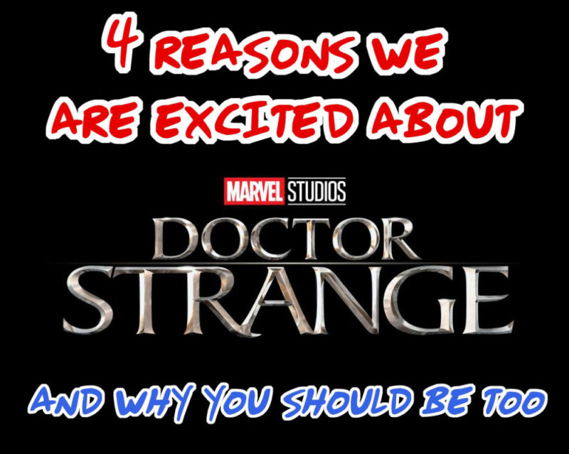 We can't wait to see Marvel's Doctor Strange! It's hitting theaters November 4th and THIS is why we are so excited!