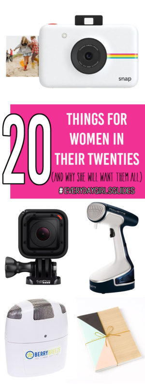 20 Things For Women in Their 20s - shop for all the ladies in your life - OR for yourself!