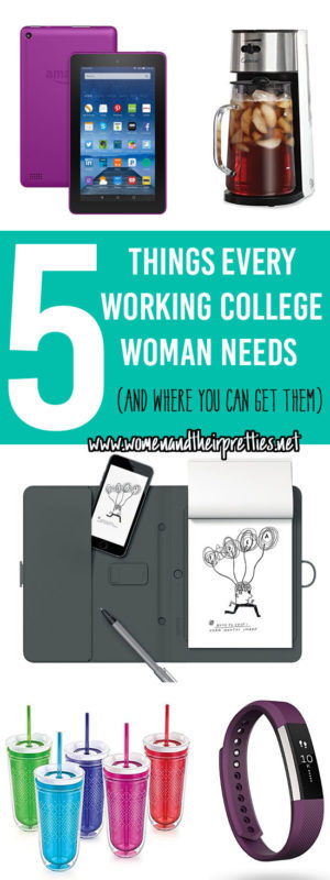 5 things every working college woman needs to start the new year & where you can get them. Plus, how you can save on your personal beauty routine!