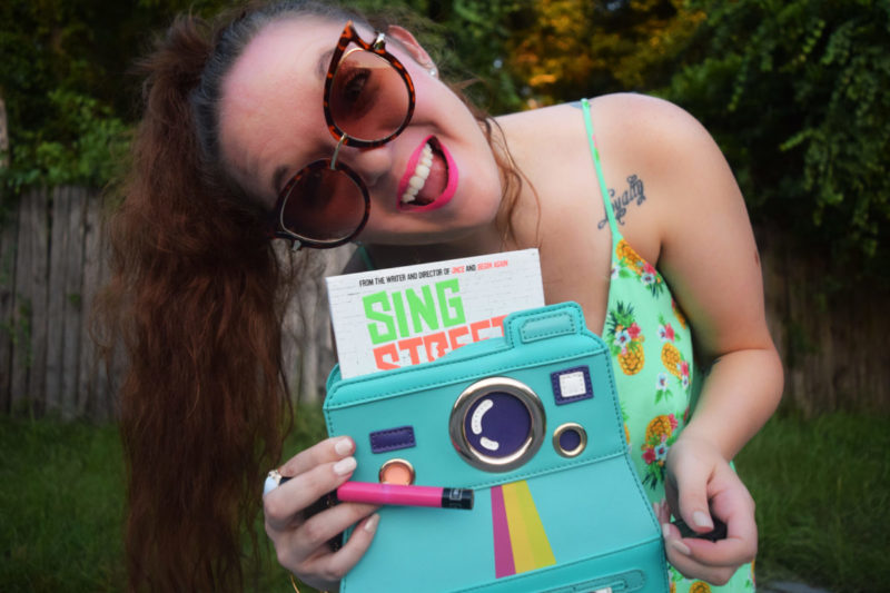 Swingin' to the 80's with a hot pink lipstick and Sing Street on DVD - Win a Sing Street DVD + $25 Sephora GC