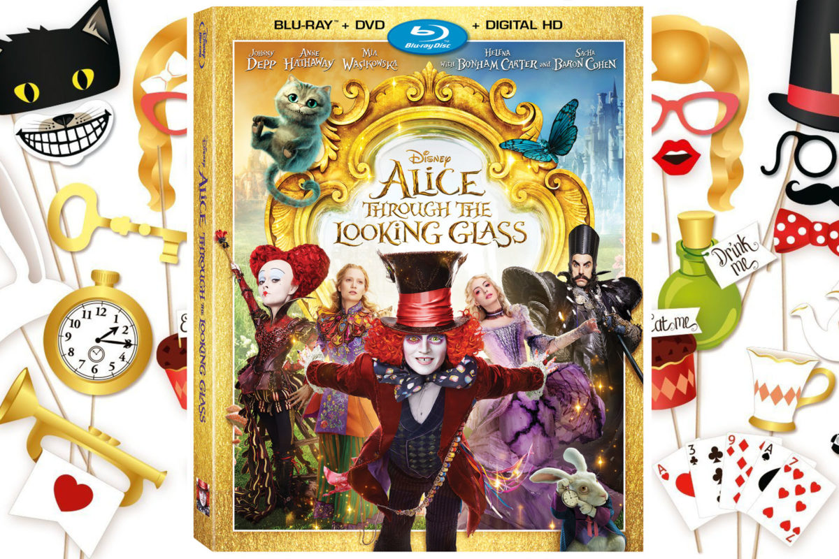 Alice Through The Looking Glass DVD and Alice Through The Looking Glass Gifts