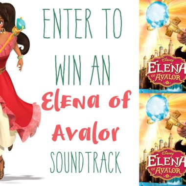 Elena of Avalor Soundtrack giveaway and Elena of Avalor gifts