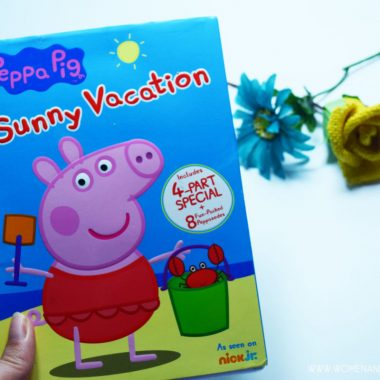 Peppa Pig Sunny Vacation DVD available