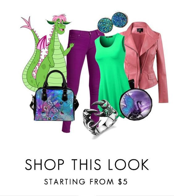 Pete's Dragon Inspired Fashion - Disney Inspired outfits Look 2