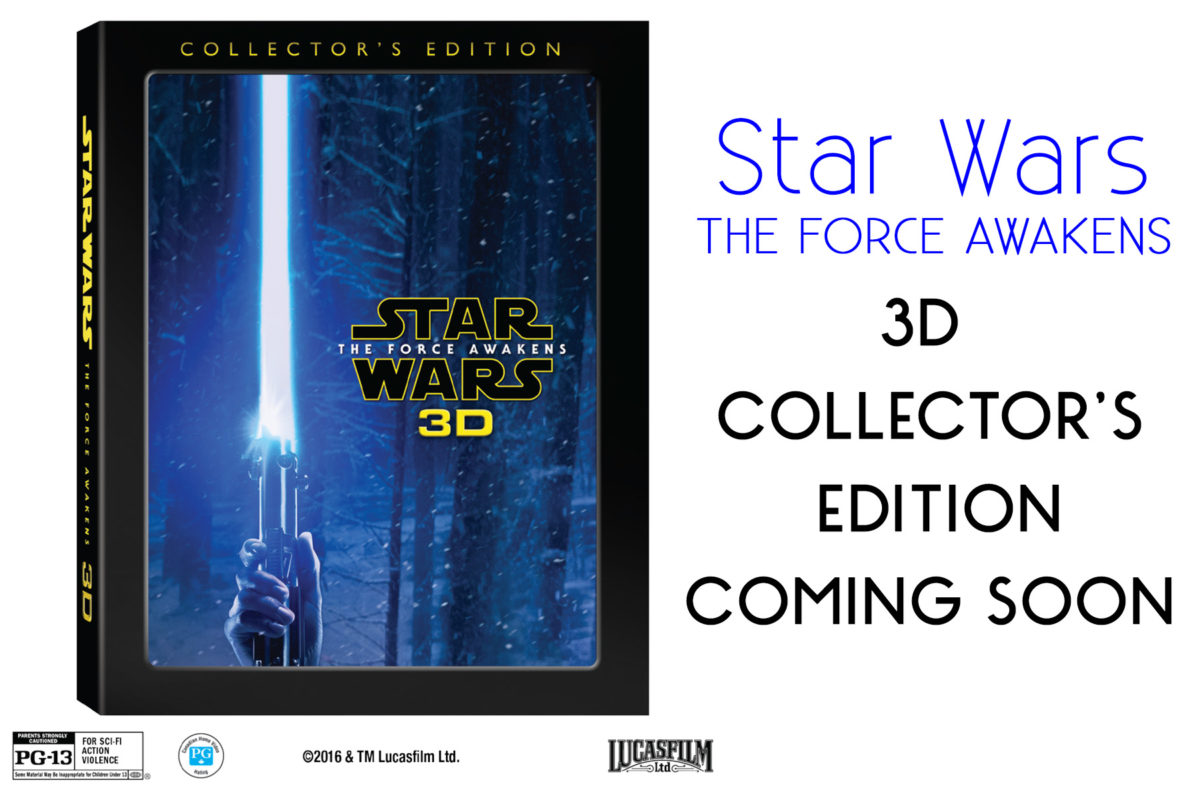 STAR WARS COLLECTORS EDITION coming soon