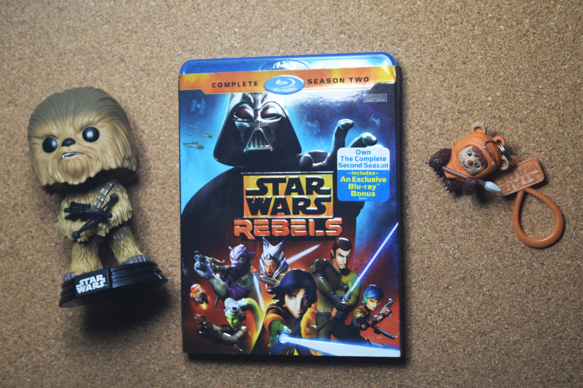 Add Star Wars: Rebels Season 2 to your Blu-ray collection & grab these awesome gifts