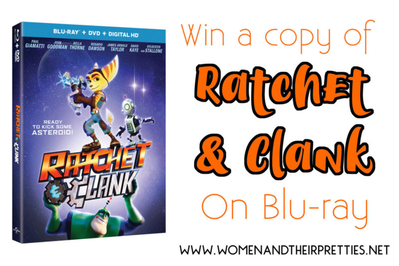 Win a Ratchet & Clank Blu-ray today!