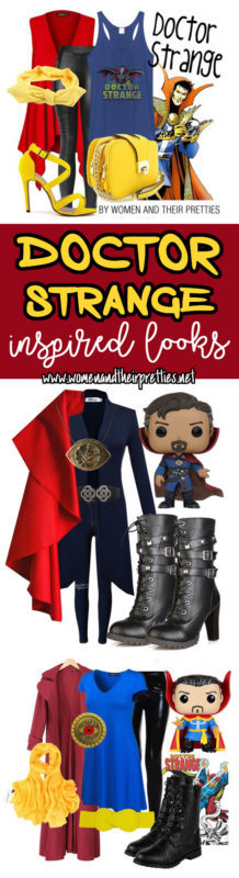 Looking for easy and fun Doctor Strange cosplay? Check out these Doctor Strange Outfits - Marvel Inspired outfits (taking Disney bounding to the next level)
