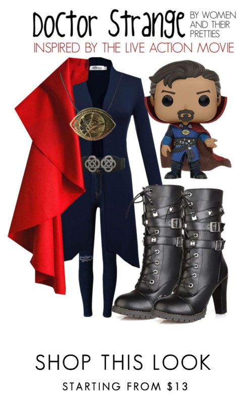 Doctor Strange Outfits - Look #1 is inspired by the live action Doctor Strange Movie copy