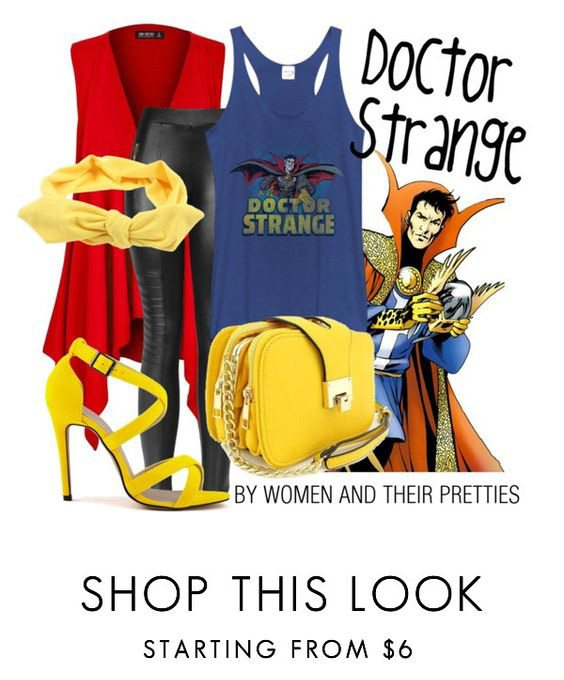 Doctor Strange Outfits - Look #3 is a cute and casual Doctor Strange cosplay outfit