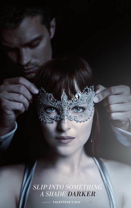 Check out the Fifty Shades Darker teaser trailer and poster! #FiftyShadesDarker
