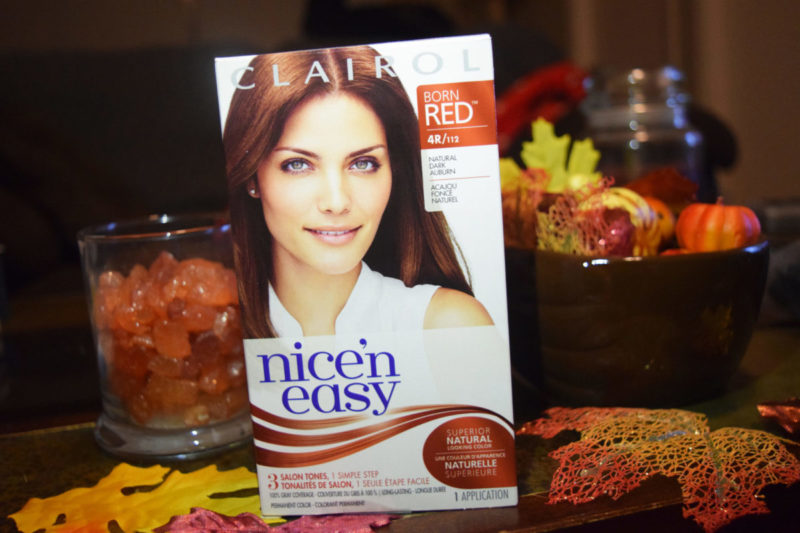 I used Clairol Nice'N Easy to refresh my hair for fall - what bold decisions are you making?