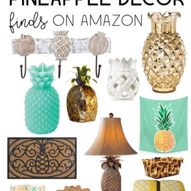 The Top 20 Pineapple Decor Finds on Amazon