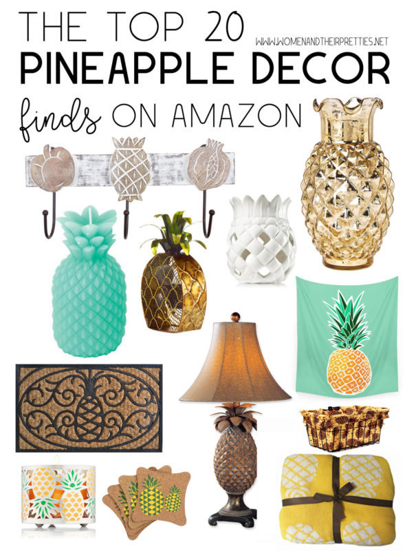 The top 20 pineapple decor finds on amazon women and for Best home decor amazon