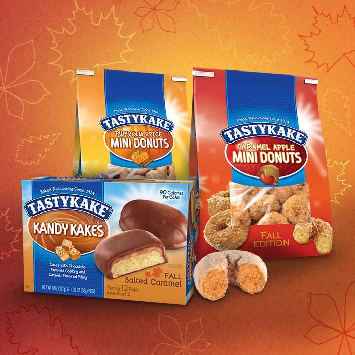 Tastykake Seasonal Snacks!