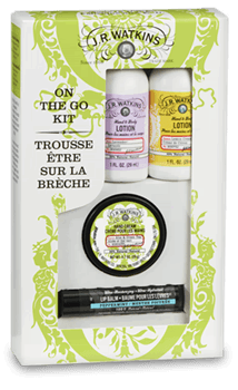Get this JR Watkins On-The-Go kit as a stocking stuffer this year!