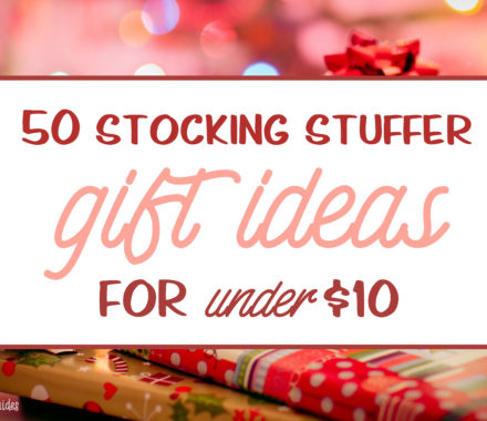One of the most fun things about Christmas shopping is the stockings. Mama Smith and Women and Their Pretties don't believe in only stuffing the stockings with candy – we love finding all sorts of fun and cute ideas for the stockings – but you have to keep it to $10 or less. The hunt for the perfect stocking stuffers can be a fierce one, so you can use our guide as a fun place to begin your Christmas shopping.