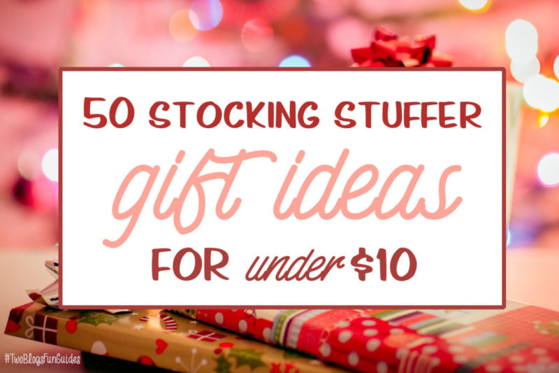 50 Stocking Stuffer Gift Ideas For Under $10