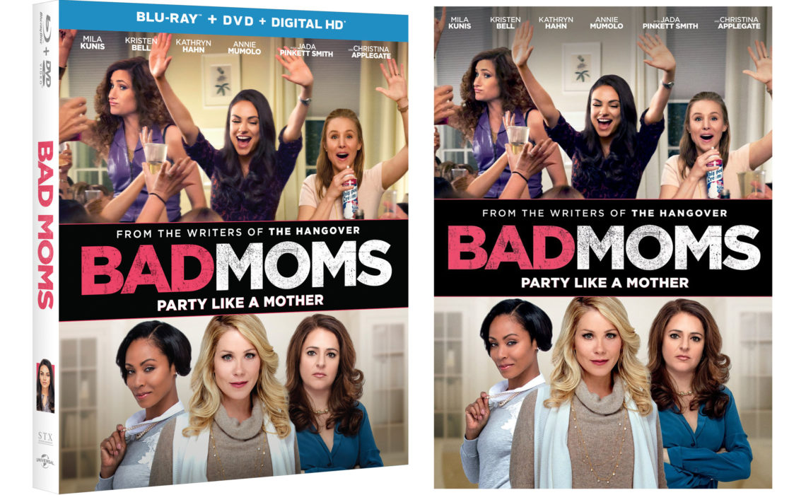 Win a copy of Bad-Moms on Blu-ray