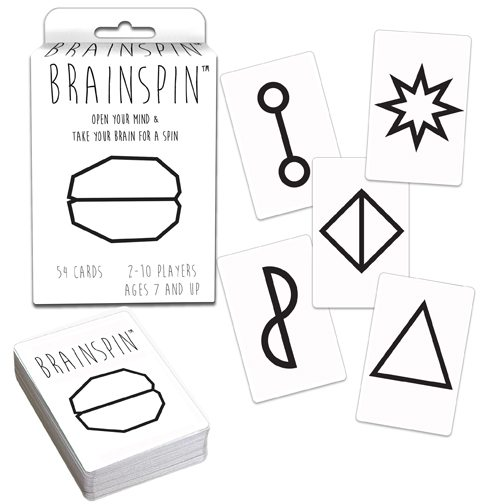 Brainspin is a perfect game that will fit right into the stockings this year - Stocking Stuffer Gift Ideas for Under $10