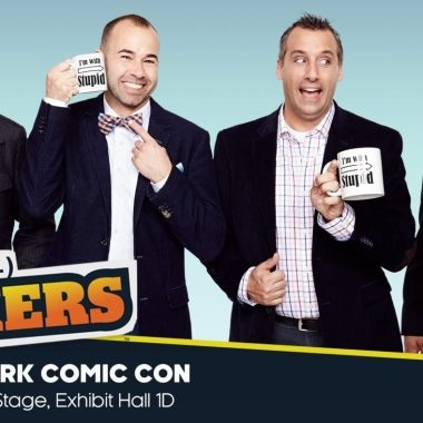 What I learned from the Impractical Jokers NYCC Panel 2016