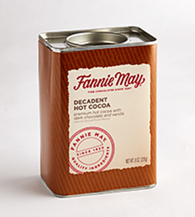Just the thing on a cool, crisp fall or winter day. Our premium hot cocoa mix is made with real dark chocolate with a hint of vanilla. Just add hot water for a cozy drink anytime. This will slip right into anyone's stocking and the tin can be reused later!