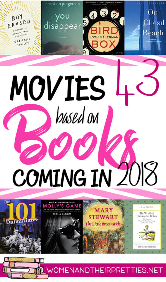 Movies Based on Books 2018