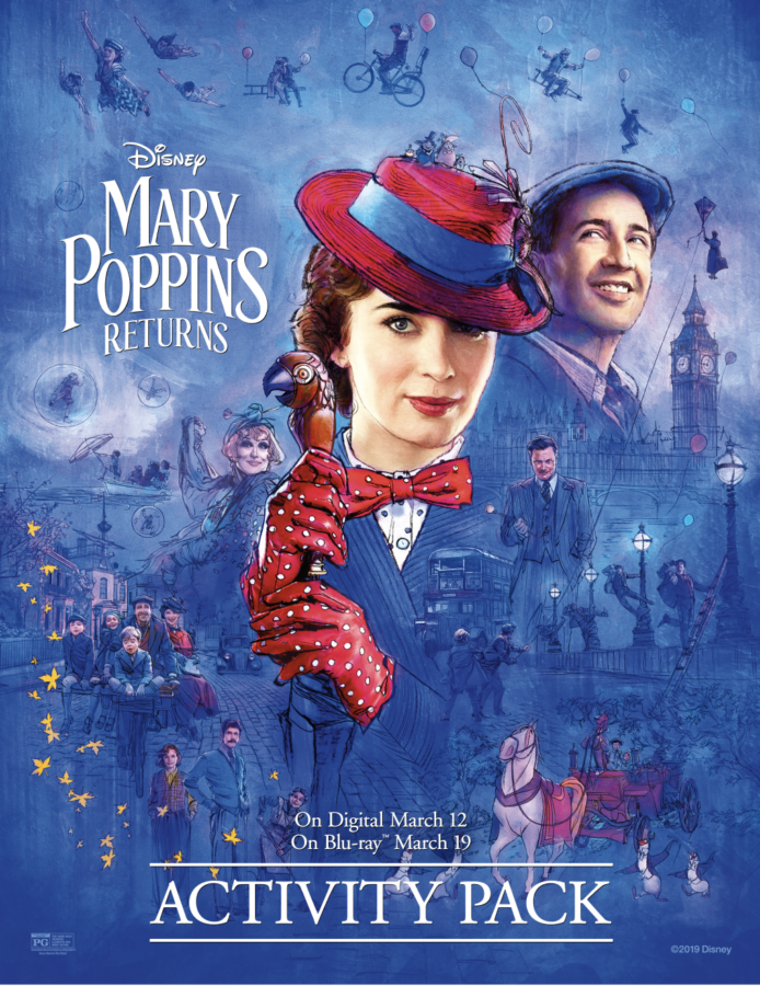 Free Mary Poppins Returns Activity Pages