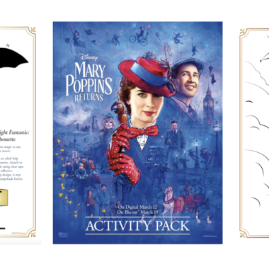 FREE Mary Poppins Returns Activity Sheets: Coloring pages, games, and more!