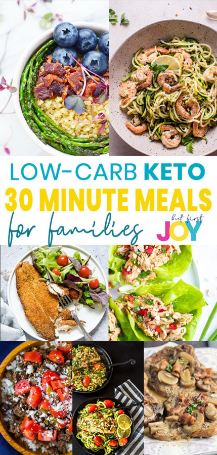 best low carb keto 30 minute meals