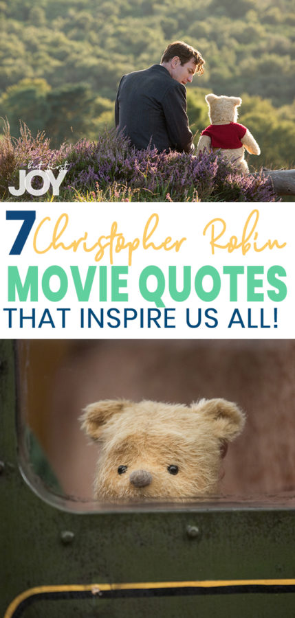 christopher robin movie quotes