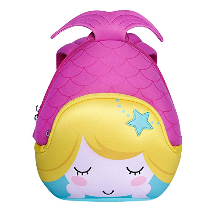 mermaid 3d backpack