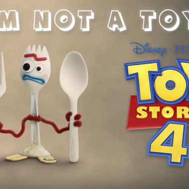 Is forky a toy in Toy Story 4?