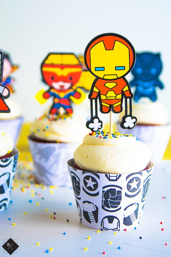marvel avengers party ideas