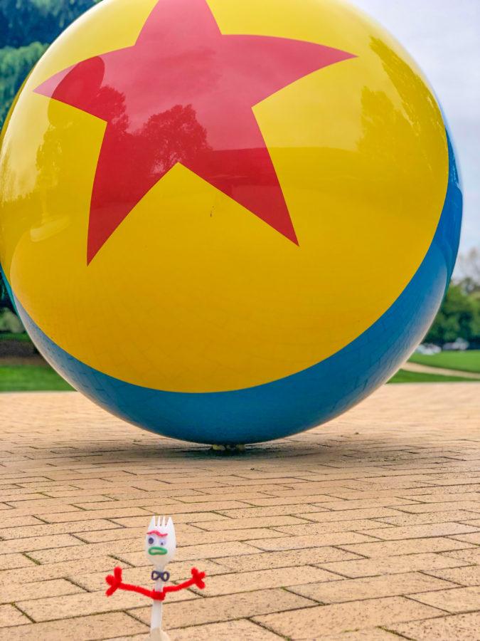 Forky tours Pixar