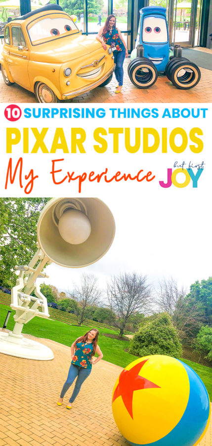After visiting Pixar Animation Studios for Toy Story 4, I just knew I had to share about this once-in-a-lifetime experience with all of you. These are all the things about Pixar Animation Studios that will absolutely surprise you! #ToyStory4 #PixarAnimationStudios #Disneymom
