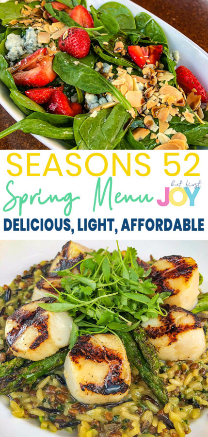 If you're looking for a nice meal to enjoy with the entire family, visit your local Season 52 to take advantage fo the Hello Spring menu deal. For under $30 a person, you get a lot of quality dishes!