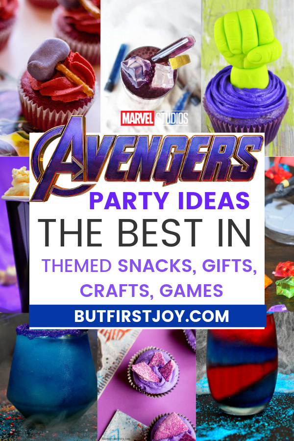 avengers party ideas 2019