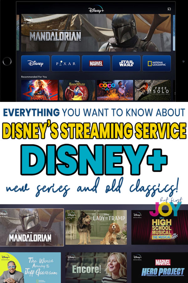 Everything coming to Disney's Streaming Service, Disney+