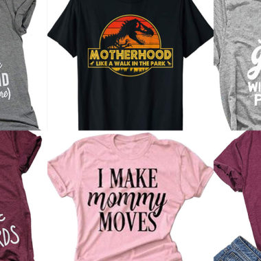 20 Cute & Witty Mom Shirts on Amazon